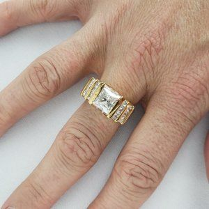 Gold Fashion Ring Size 9